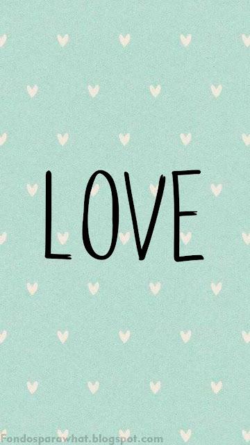 Fondos para tu celular con la palabra LOVE