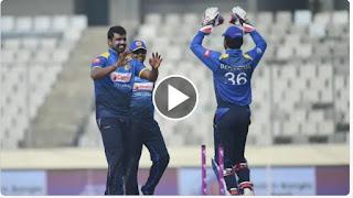 Cricket Highlights - Sri Lanka vs Zimbabwe 4th ODI Triangular Series 2018