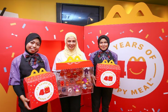 Mainan Ikonik McDonald's Muncul Kembali Sempena  Sambutan Ulang Tahun Ke-40 Happy Meal