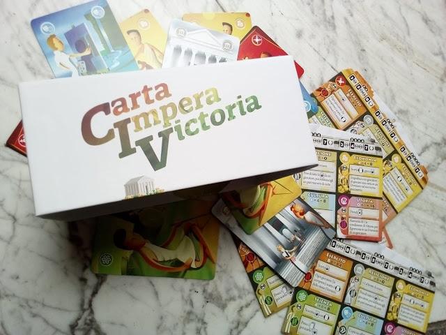 """""""Carta Impera Victoria"""", il gioco di civilizzazione tutto di carte"""