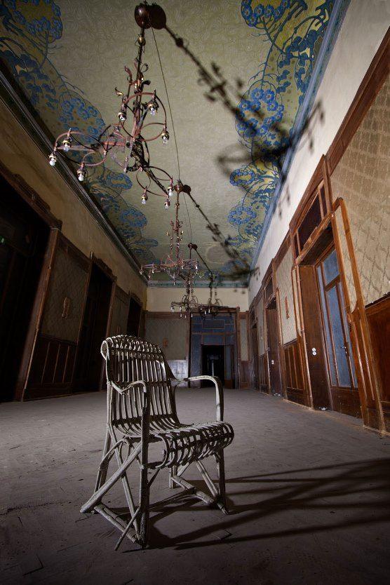 Hotel abandonado San Pellegrino