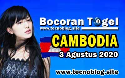 Bocoran Togel Cambodia 3 Agustus 2020