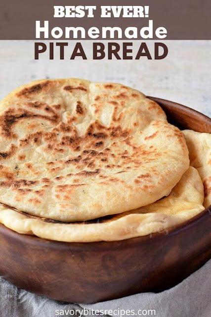 best homemade pita bread