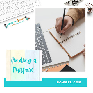 FINDING A PURPOSE IN LIFE
