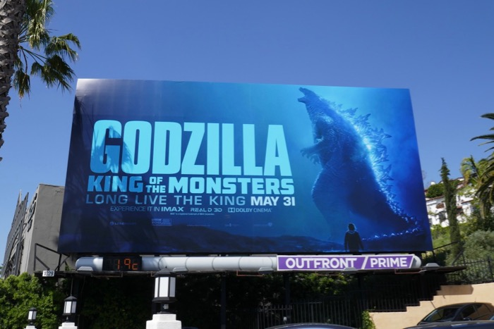Godzilla King of Monsters teaser billboard