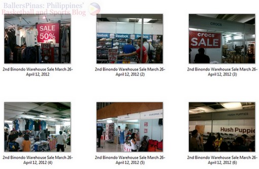8ba2966638c7 I already visited the 2ND Binondo Warehouse Sale that started earlier  today