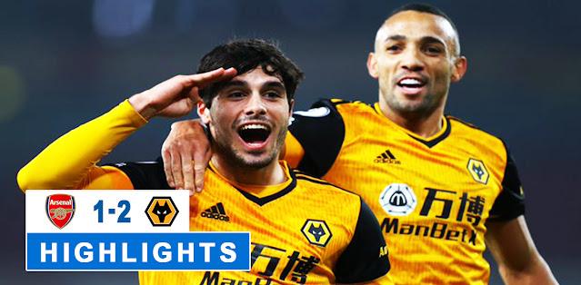 Arsenal vs Wolverhampton Wanderers – Highlights