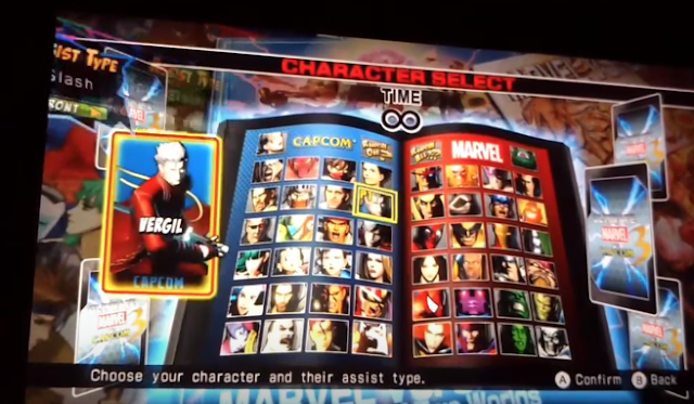 Se filtra vídeo de Marvel vs Capcom 3 en Nintendo Switch