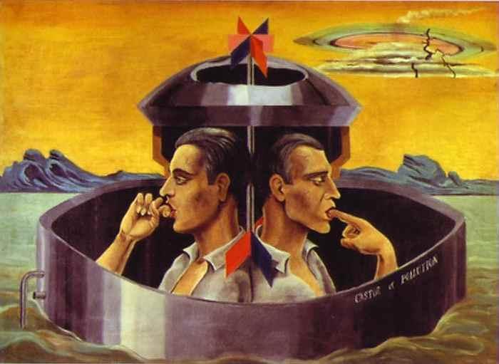 Max Ernst Pintor Francés dadaísta surrealista