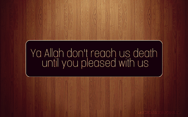 Allah repent us