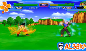 تحميل لعبة Dragon Ball Z Shin Budokai Another Road psp iso مضغوطة لمحاكي ppsspp