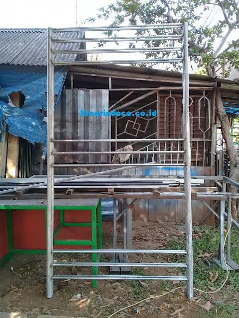 Ranjang Besi Susun 3 Pesanan Bu Vidri Jelambar Jakarta Barat