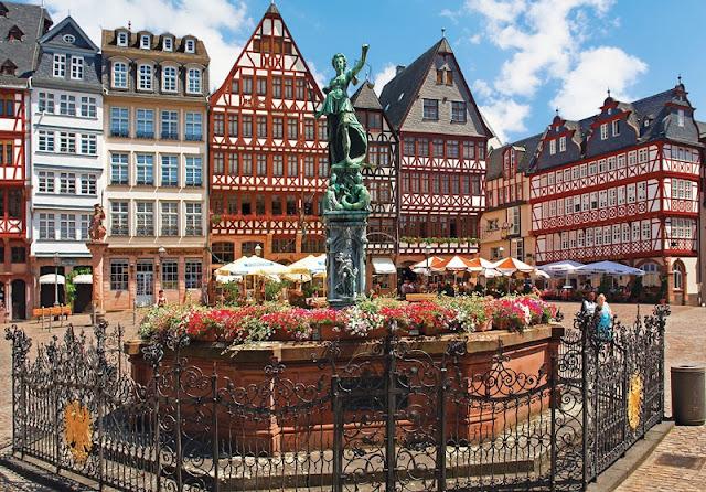 Passeio pela cidade de Frankfurt