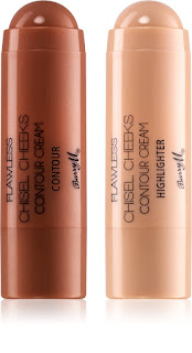 Barry M Flawless Chisel Cheeks Contour Cream