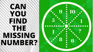 In these logical reasoning puzzles, your challenge is to find the value of the missing number.