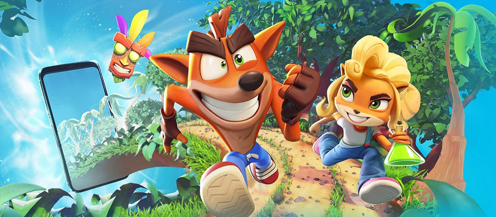 Crash Bandicoot will drop into Android and iOS in spring 2021