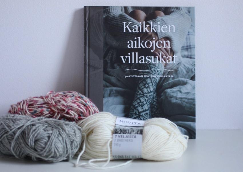 Kaikkien aikojen villasukat - 90-vuotiaan Novitan juhlakirja