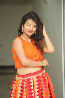 Shubhangi Bant in Orange Lehenga Choli Stunning Beauty ~  Exclusive Celebrities Galleries 054.JPG