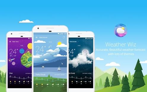 تحميل تطبيق Weather Wiz لمتابعة أحوال الطقس على هاتف اندرويد