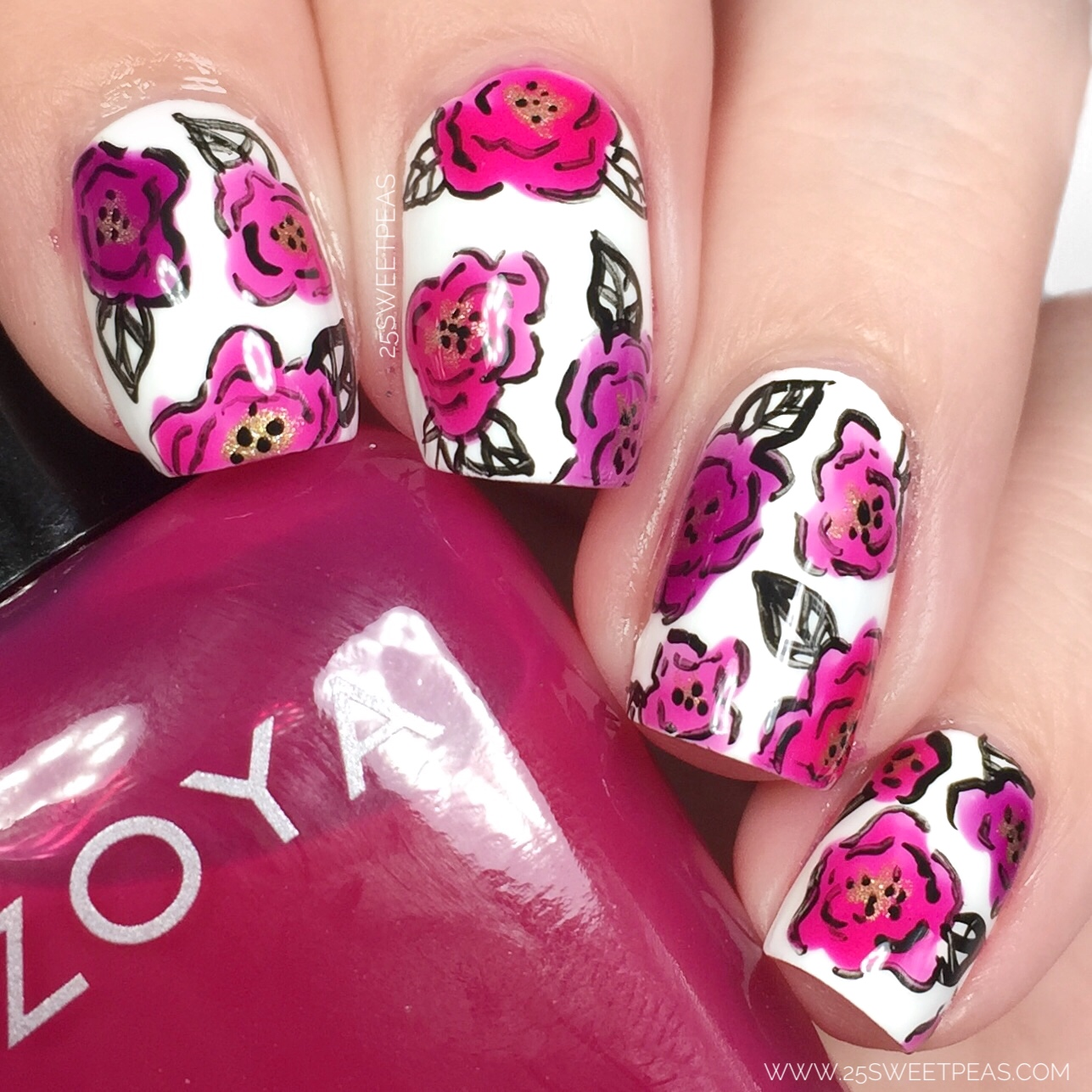 Zoya Jelly Brite Floral