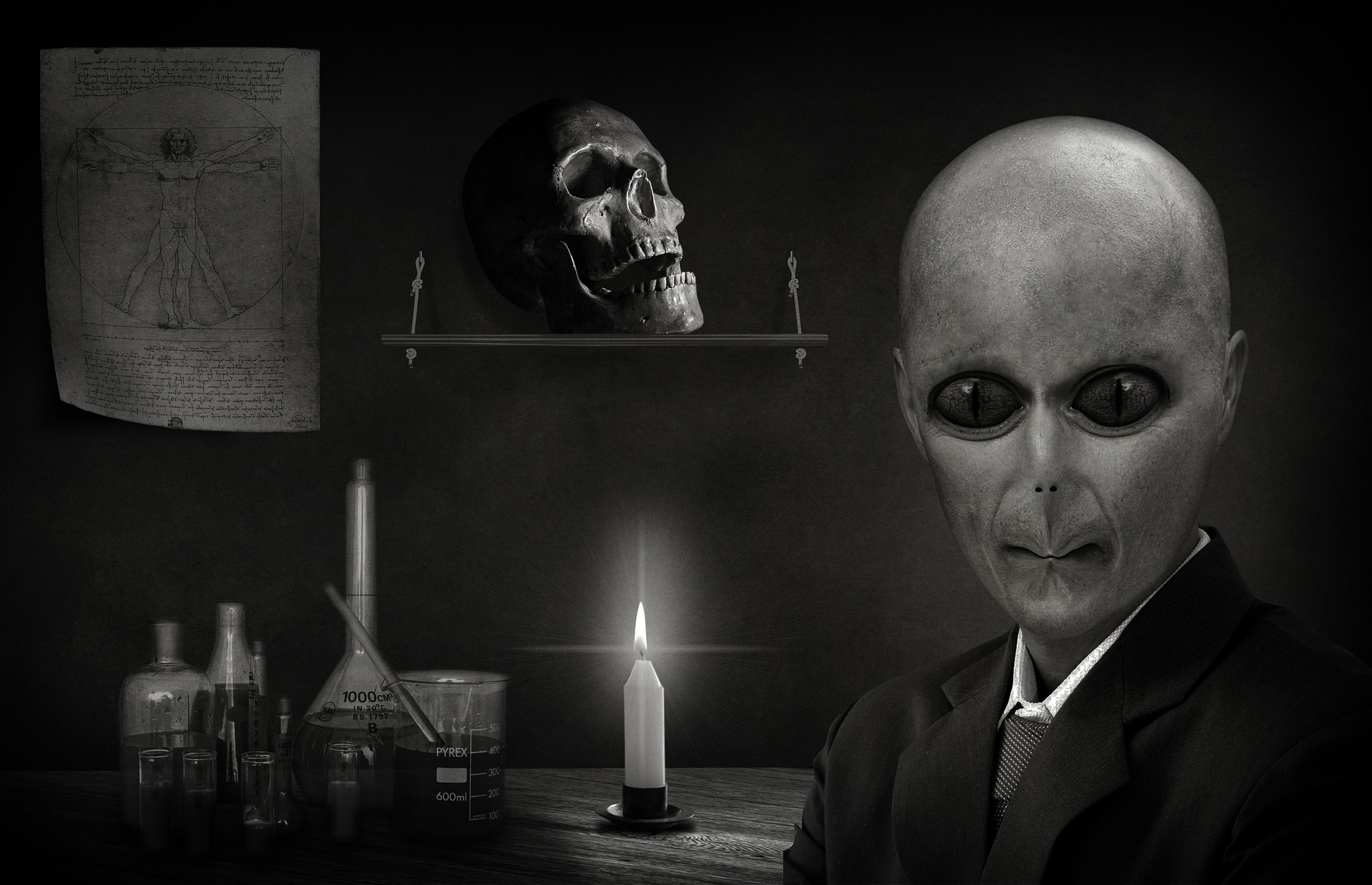 Aliens and Conspiracy Theories