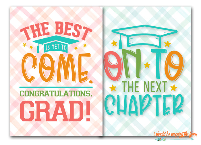 Graduation Printables for Free