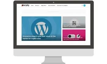 Storify Premium Blogger Template [Free Download]