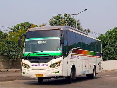 Foto Bus Sinar Jaya 13S