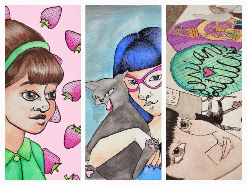What I've Been Up To Lately - Paintings and Illustrations | Yeti Crafts
