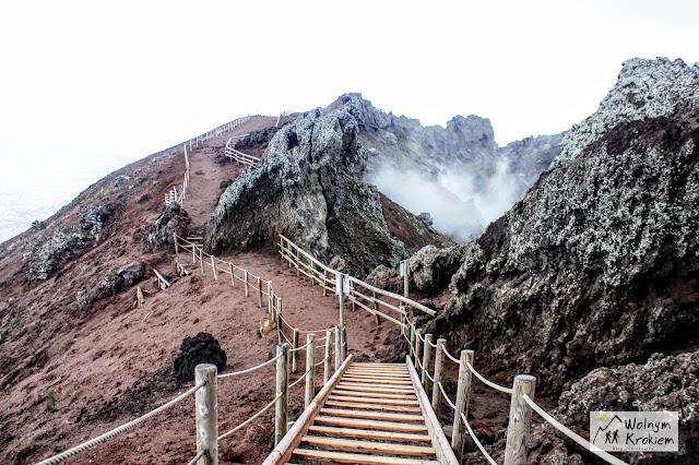 Wulkan Wezuwiusz Neapol w 3 dni