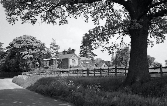 Welham Manor in the 1950s Image by K King part of the Images of North Mymms collection