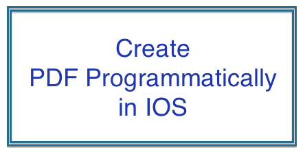 Create multipage PDF in IOS programmatically