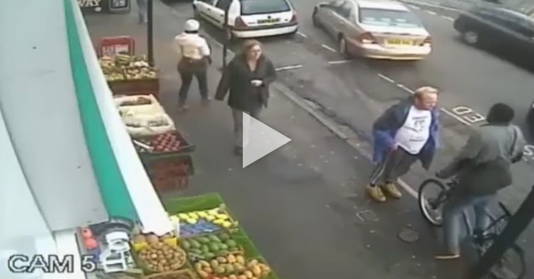 40-year-old Man was killed with a single punch, caught on CCTV
