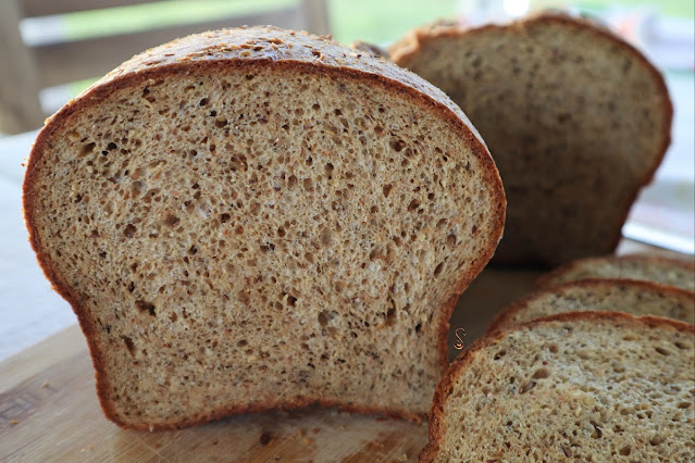 Probando la mezcla de Bob´s Red Mill para pan low carb