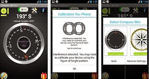 Download aplikasi Compass 360 Pro
