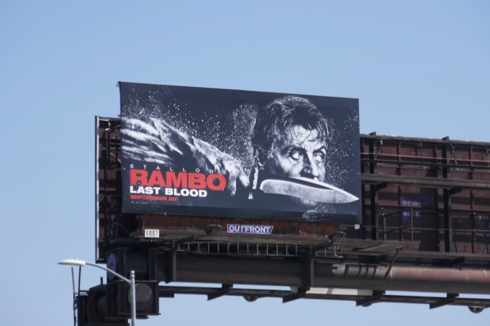 Rambo Last Blood billboard