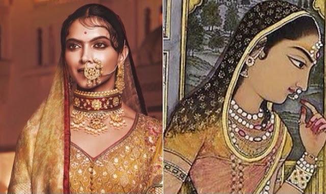 Rani Padmavati Story and Deepika Padukone Padmavati Image
