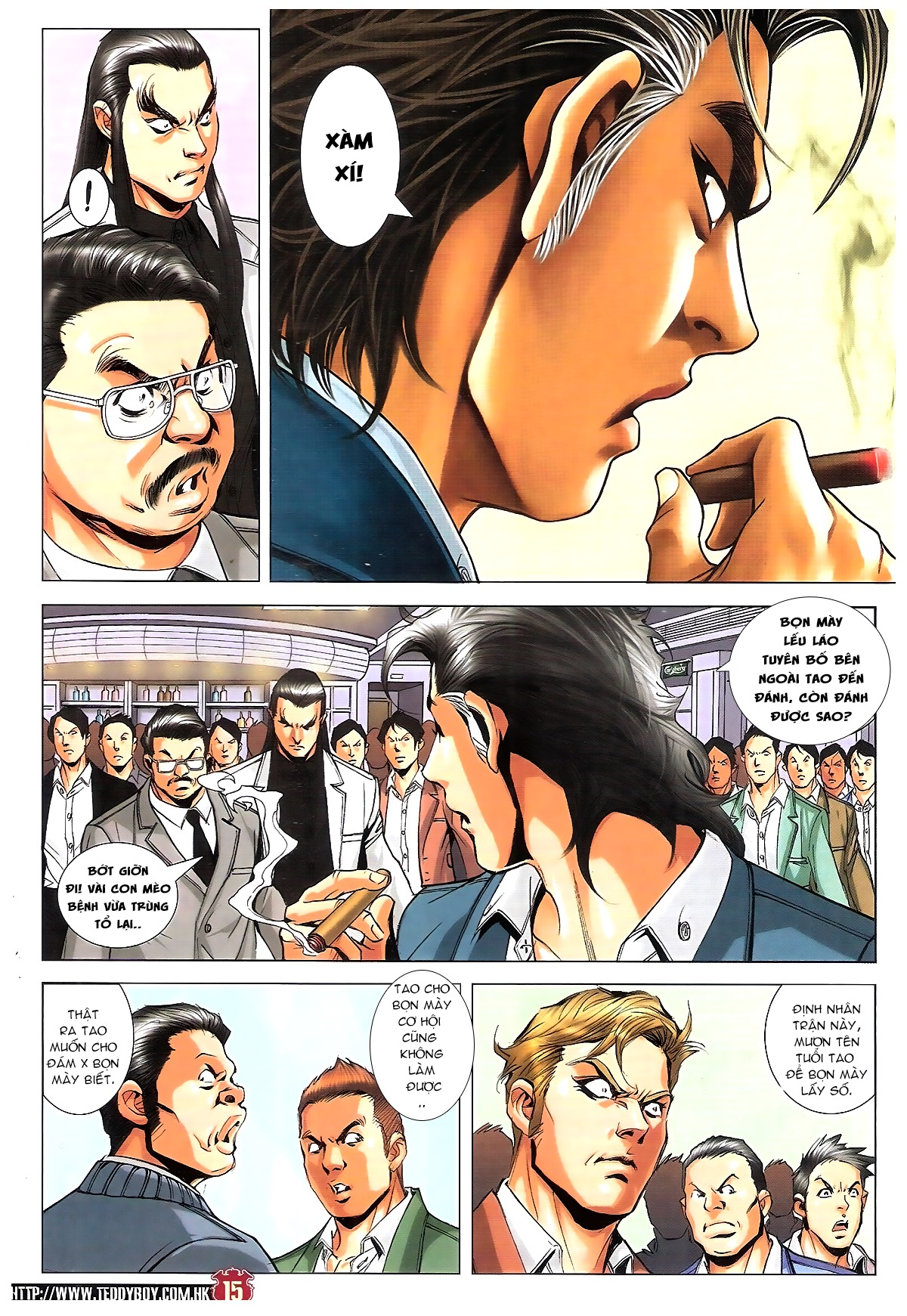 Người Trong Giang Hồ chapter 1809: bát phương phong vũ tụ hoa môn trang 12