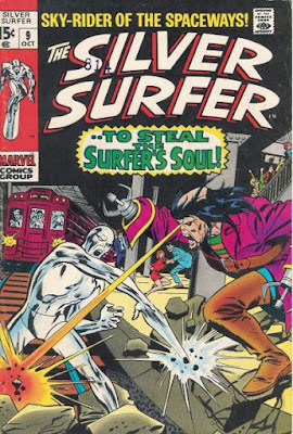 Silver Surfer #9, the Ghost