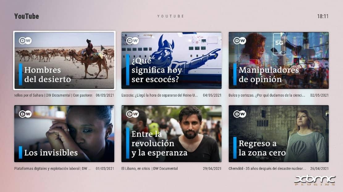 kodi documentales latino