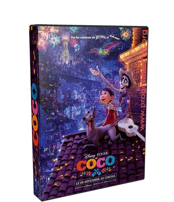 coco HD 720p y HD 1080p poster box cover