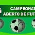 Organização divulga tabela das quartas de final e semi do Aberto sub-11 e 15 de futebol