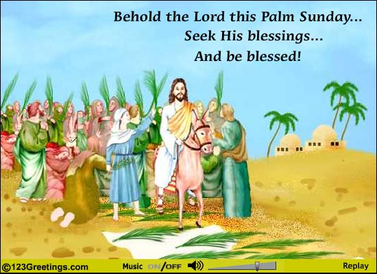Palm Sunday Images 2016: Best Palm Sunday Images Greeting Cards Ecards