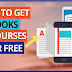2 Ways to Download EBooks & Courses and TextBooks for FREE