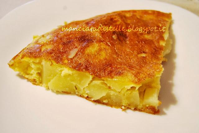 Una manciata di stelle  Ricettario Fotografico Tortilla di patate  ricetta spagnola