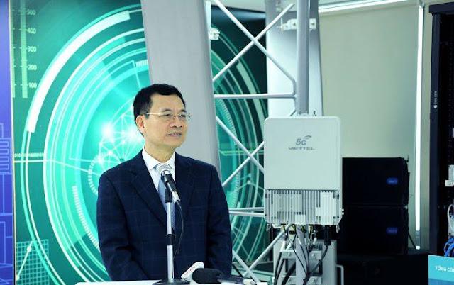 Bộ trưởng Nguyễn Mạnh Hùng TT&TT muốn bán thiết bị 5G cho Mỹ