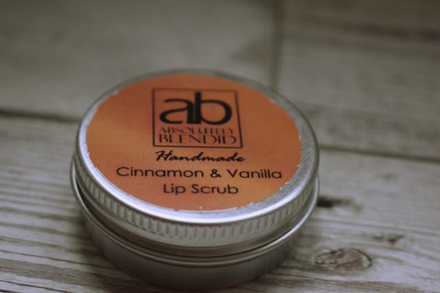 Absolutely Blendid cinnamon and vanilla lip scrub