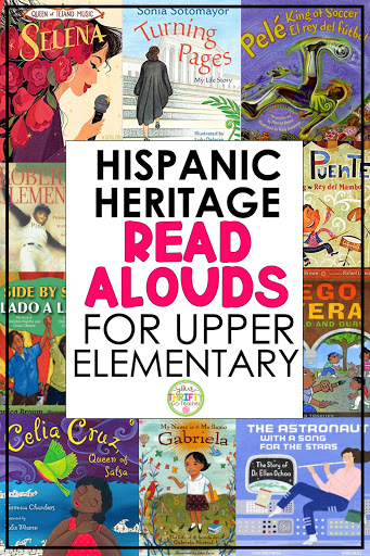 If you're looking for Hispanic Heritage Month Books to share with your upper elementary students,  this list of biographical picture books is for you.