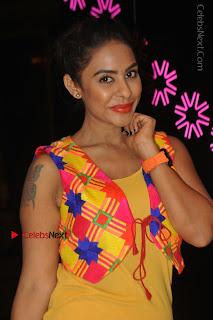 Telugu Actress Model Sri Reddy Latest Stills in Yellow Dress  0031.JPG