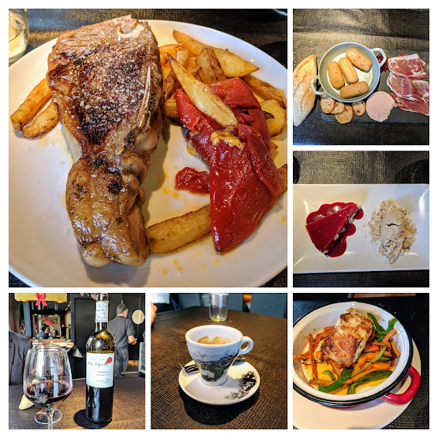 Places to eat in Bilbao: Christmas lunch at Premierk